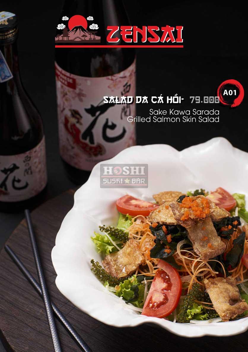 Menu Hoshi Sushi - Bàu Cát 1