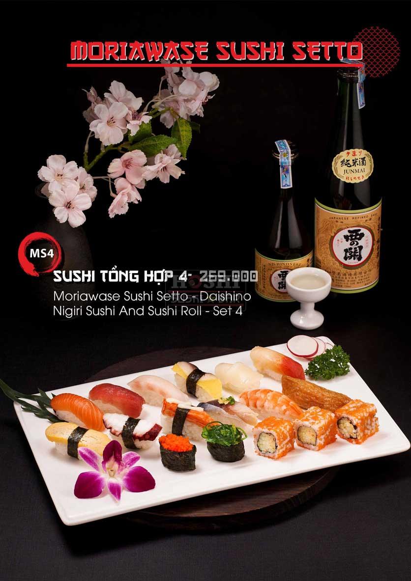 Menu Hoshi Sushi - Bàu Cát 15