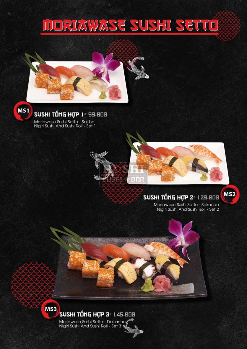 Menu Hoshi Sushi - Bàu Cát 16