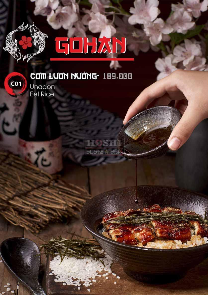 Menu Hoshi Sushi - Bàu Cát 24