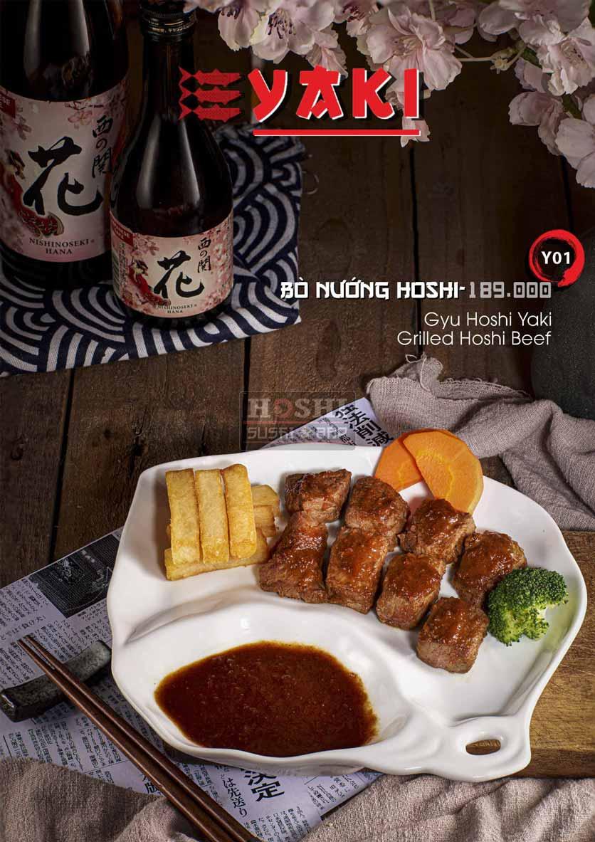 Menu Hoshi Sushi - Bàu Cát 26
