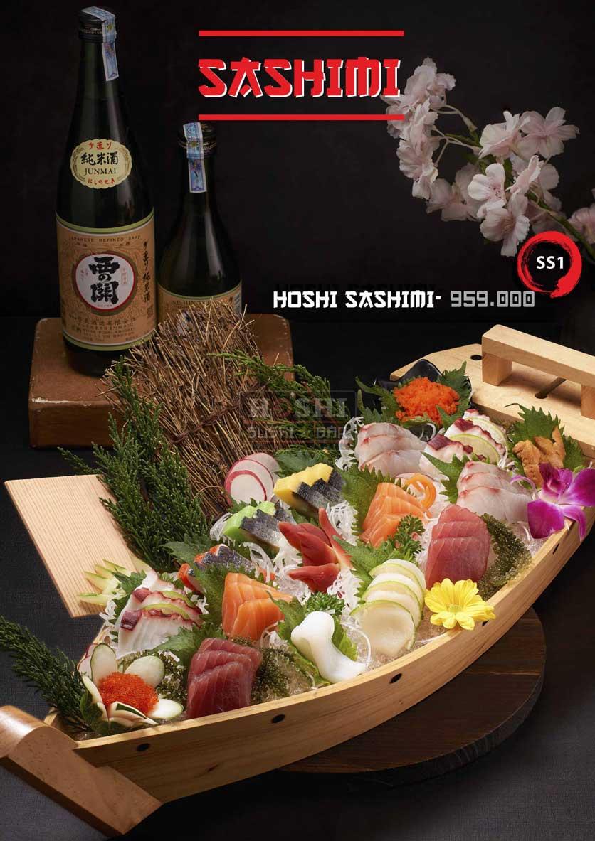 Menu Hoshi Sushi - Bàu Cát 4