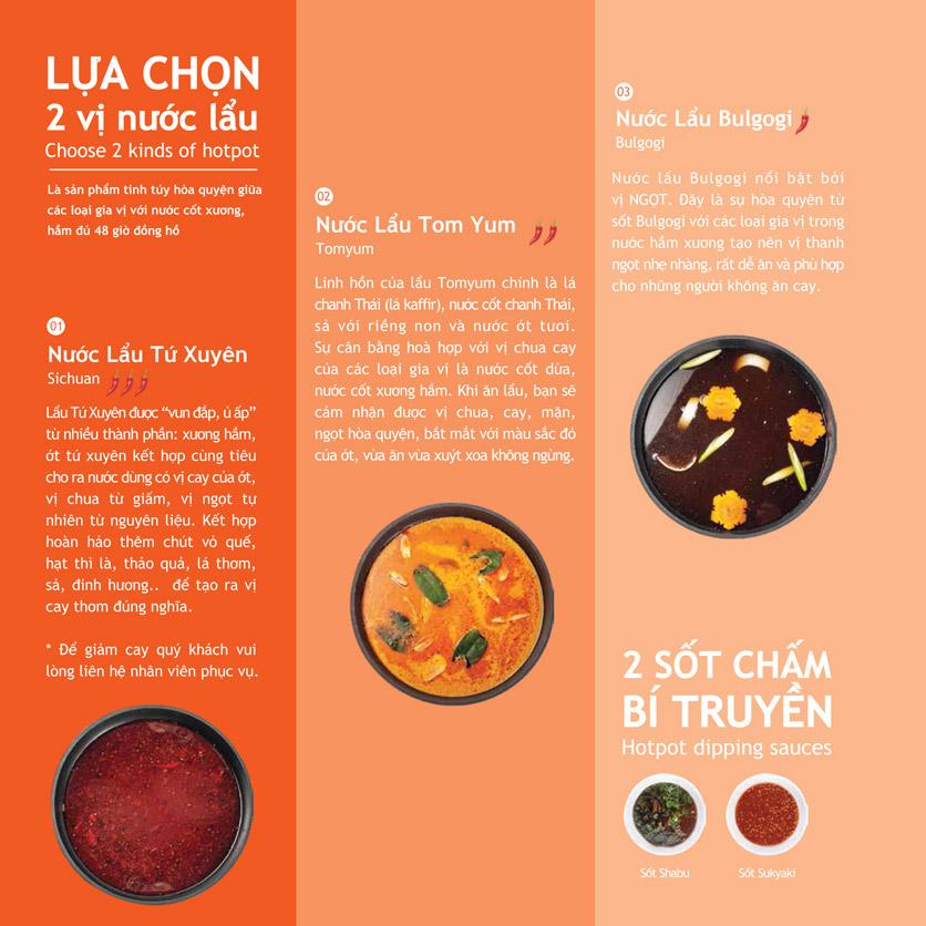 Menu Hotpot Story - Nguyễn Văn Quá 2
