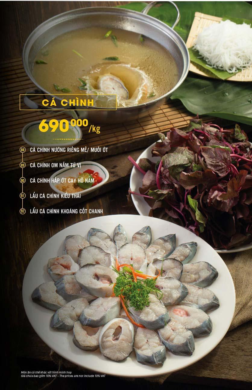 Menu Hải Sản Cua Bay - Đỗ Quang   6