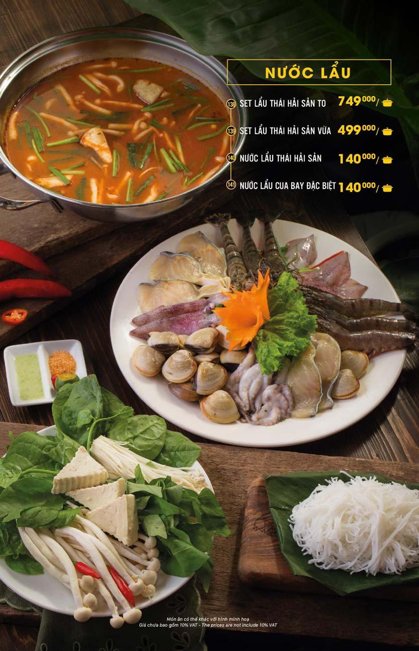 Menu Hải Sản Cua Bay - Đỗ Quang   8