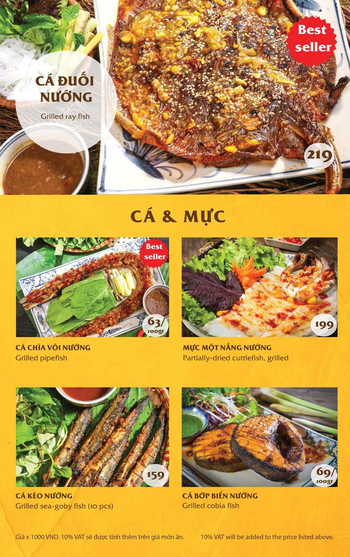Menu Vị Quảng – Nguyễn Chí Thanh 5