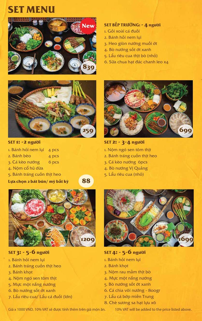Menu Vị Quảng – Nguyễn Chí Thanh 8