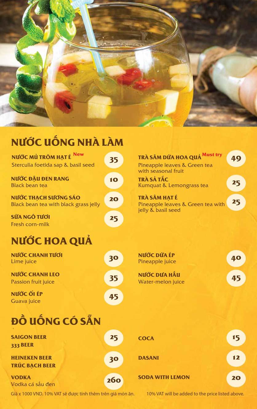 Menu Vị Quảng – Nguyễn Chí Thanh 9