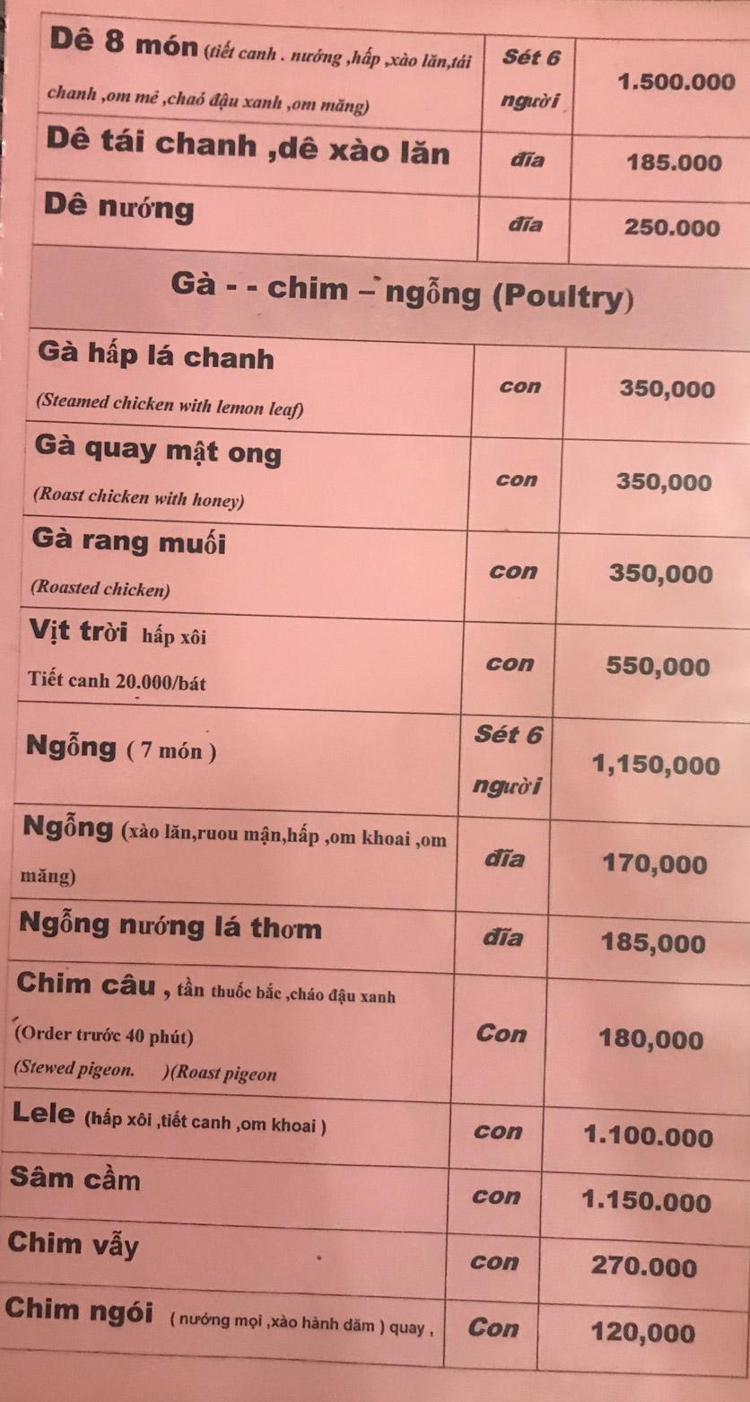 Menu Hương Việt - Đỗ Đức Dục   7