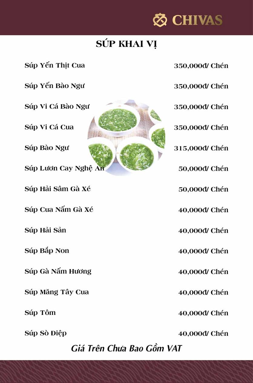 Menu Phương Xưa - Võ Văn Tần 1