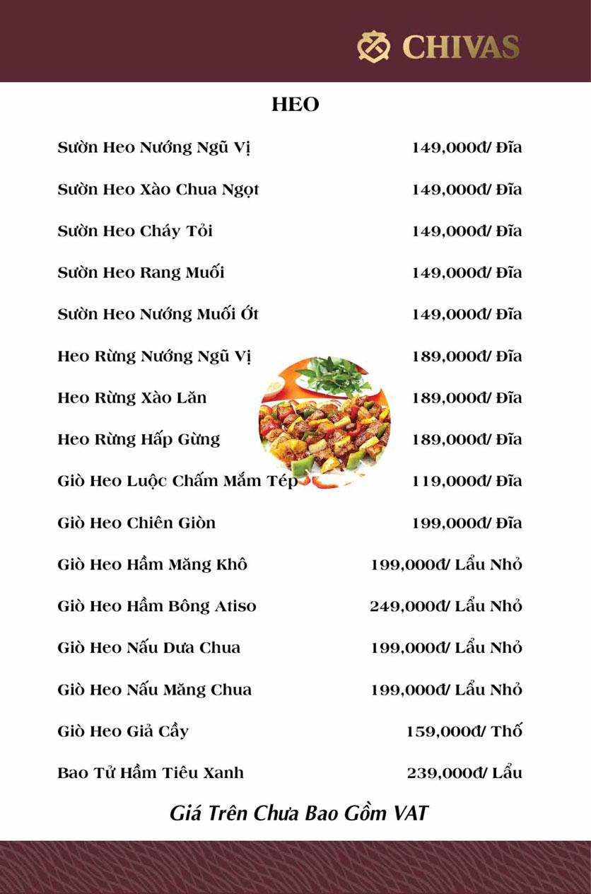 Menu Hương Xưa 1 - Võ Thị Sáu 10