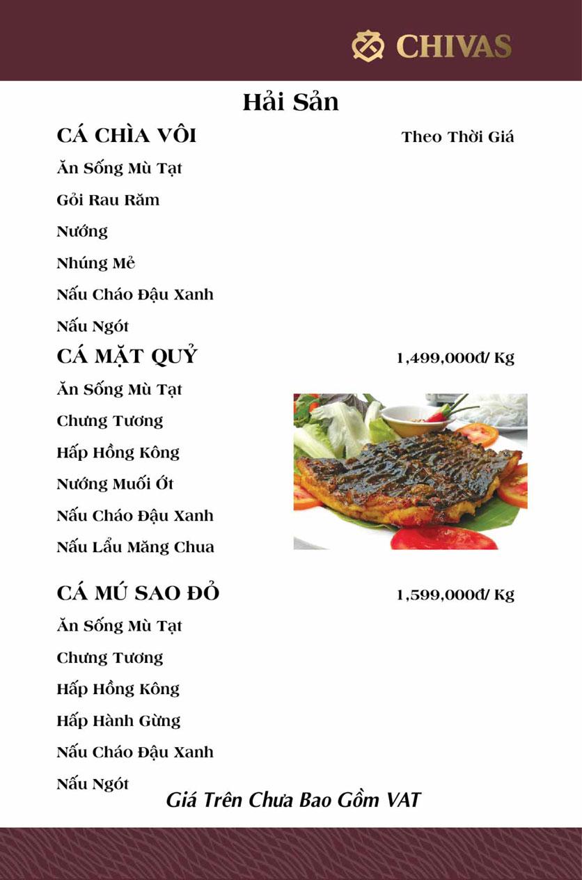 Menu Phương Xưa - Võ Văn Tần 15