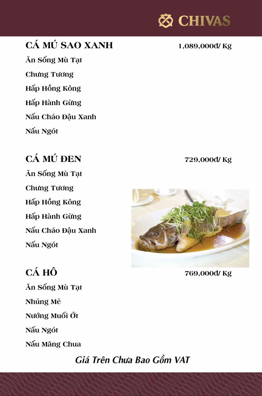 Menu Phương Xưa - Võ Văn Tần 16