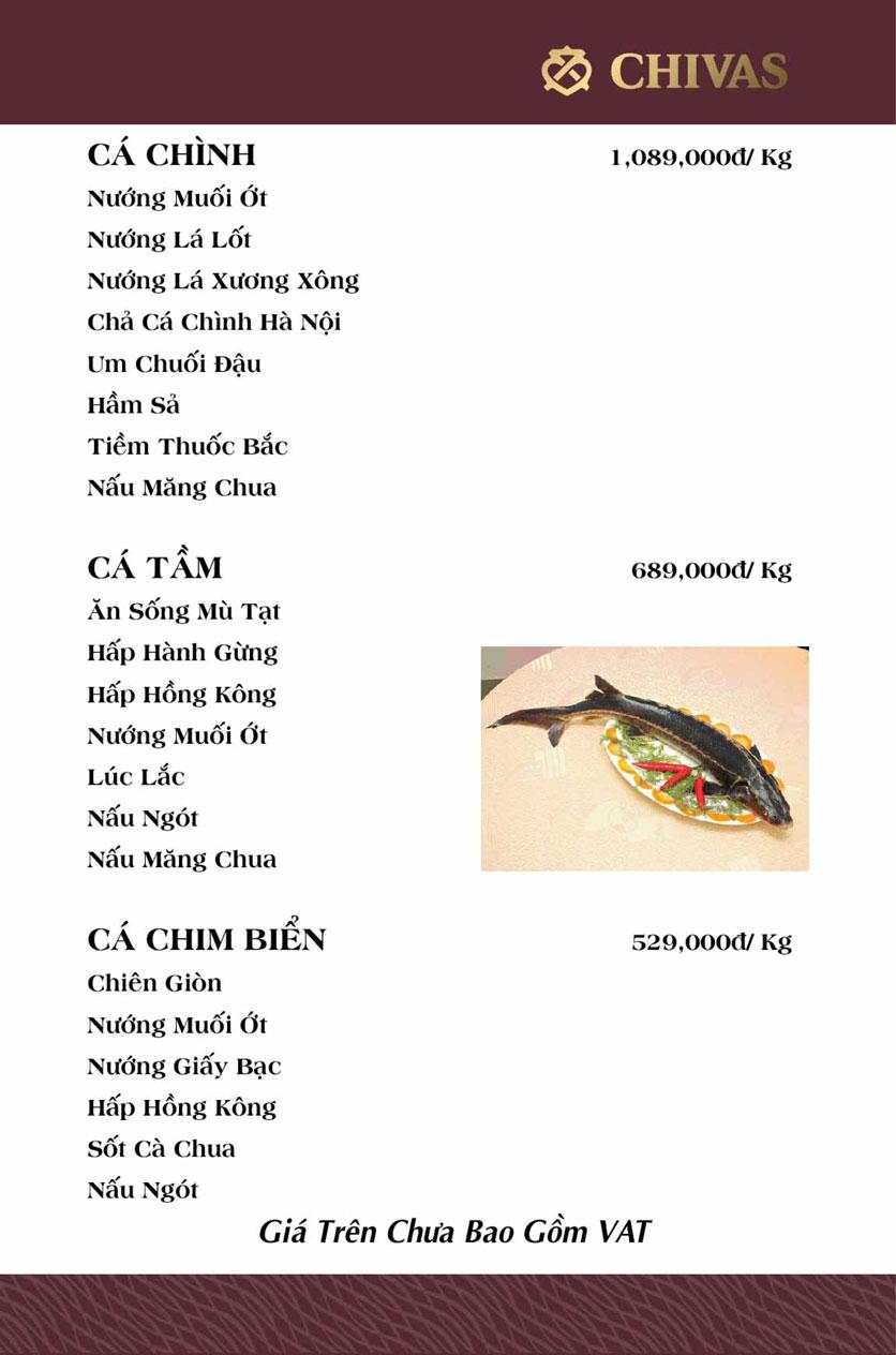 Menu Phương Xưa - Võ Văn Tần 17