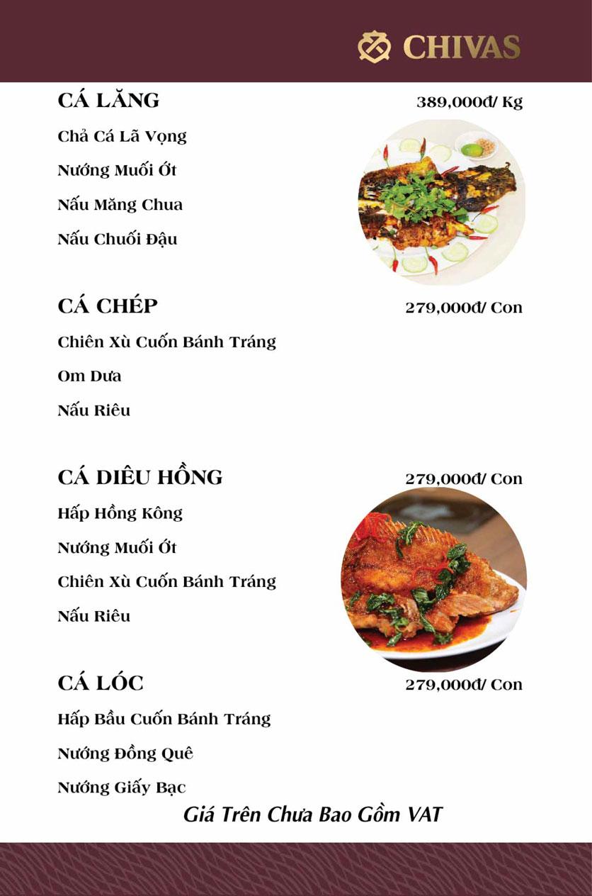 Menu Phương Xưa - Võ Văn Tần 18