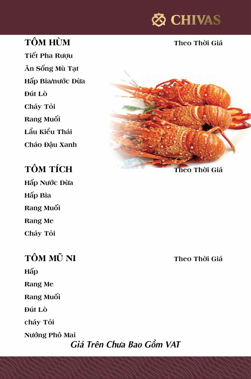 Menu Phương Xưa - Võ Văn Tần 19