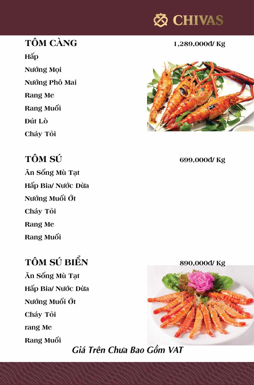 Menu Hương Xưa 1 - Võ Thị Sáu 20