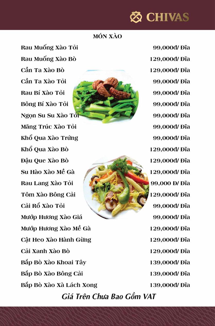 Menu Phương Xưa - Võ Văn Tần 4