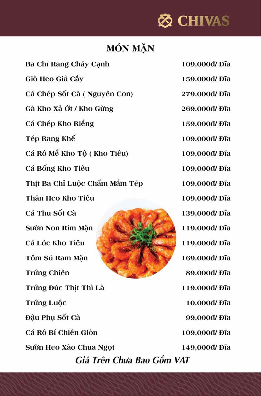 Menu Phương Xưa - Võ Văn Tần 5