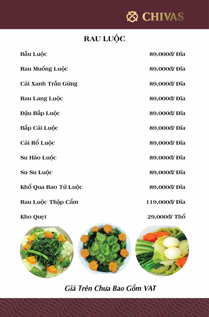 Menu Phương Xưa - Võ Văn Tần 6