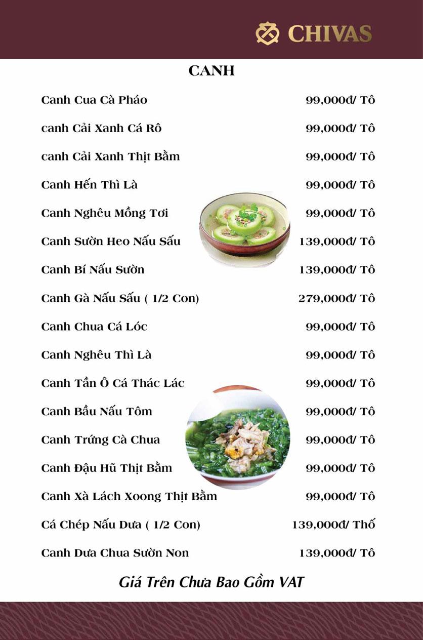 Menu Phương Xưa - Võ Văn Tần 7