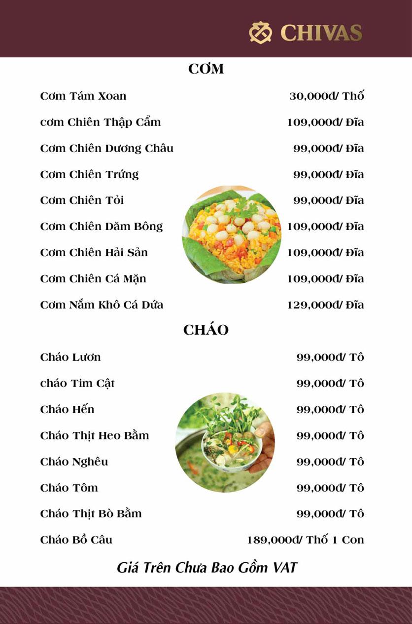 Menu Phương Xưa - Võ Văn Tần 8