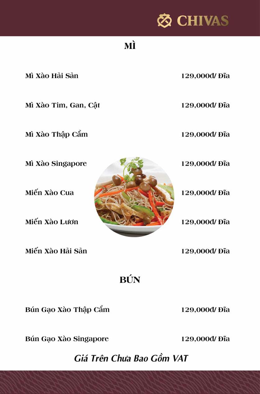 Menu Hương Xưa 1 - Võ Thị Sáu 9