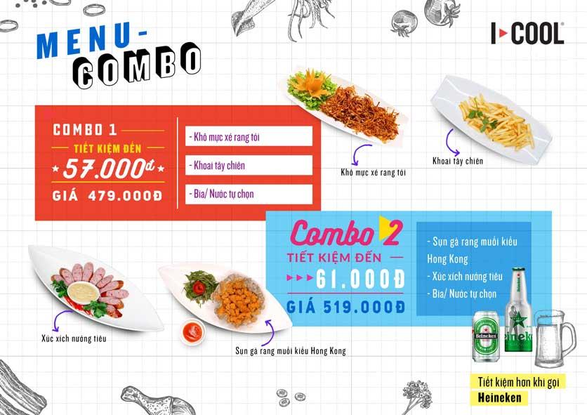 Menu Karaoke ICOOL - Thành Thái  1