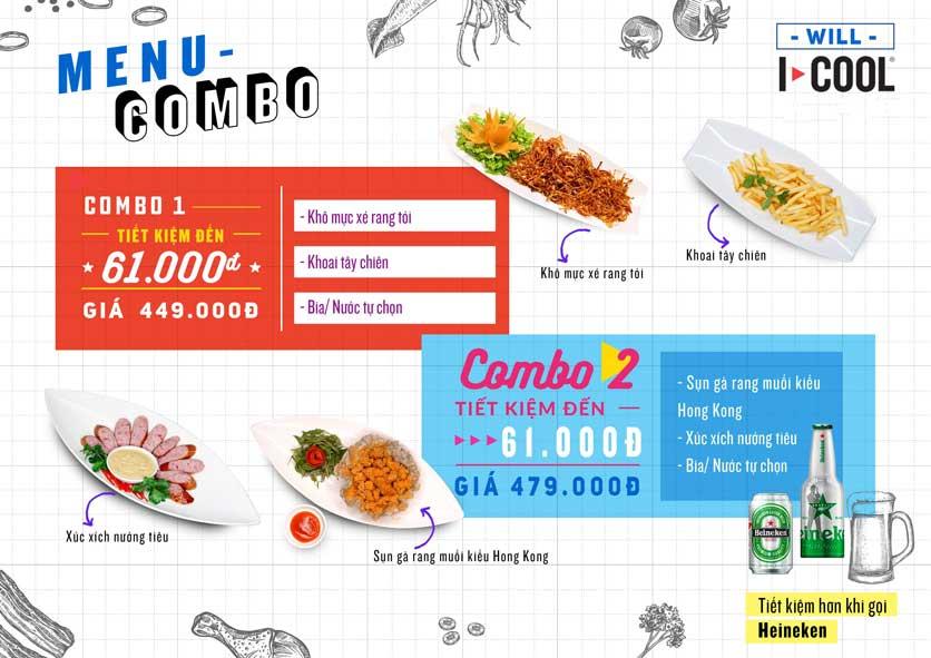 Menu Karaoke ICOOL - Phan Chu Trinh 1