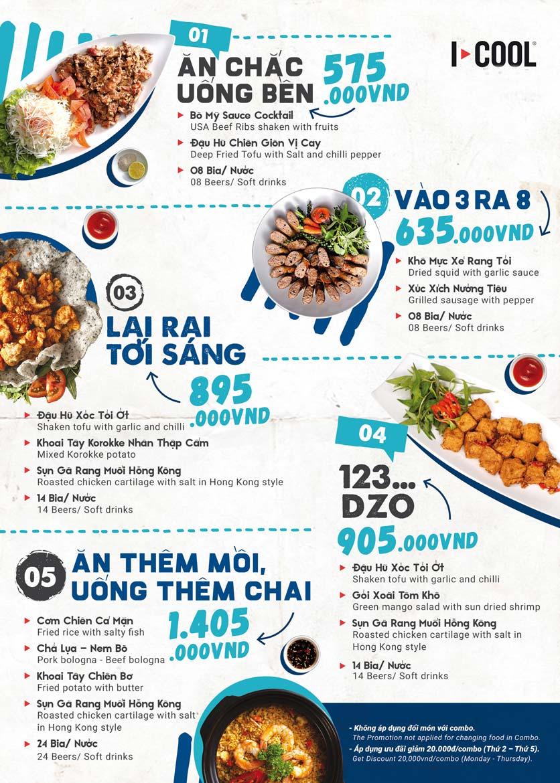 Menu Karaoke ICOOL - Nguyễn Sơn 2