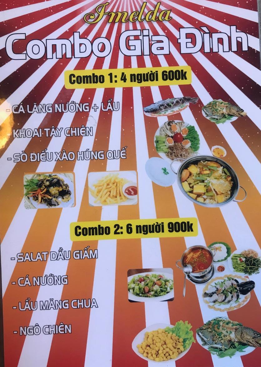 Menu Hai Lúa Sài Gòn - Beer & Restaurant - Nguyễn Chánh 1