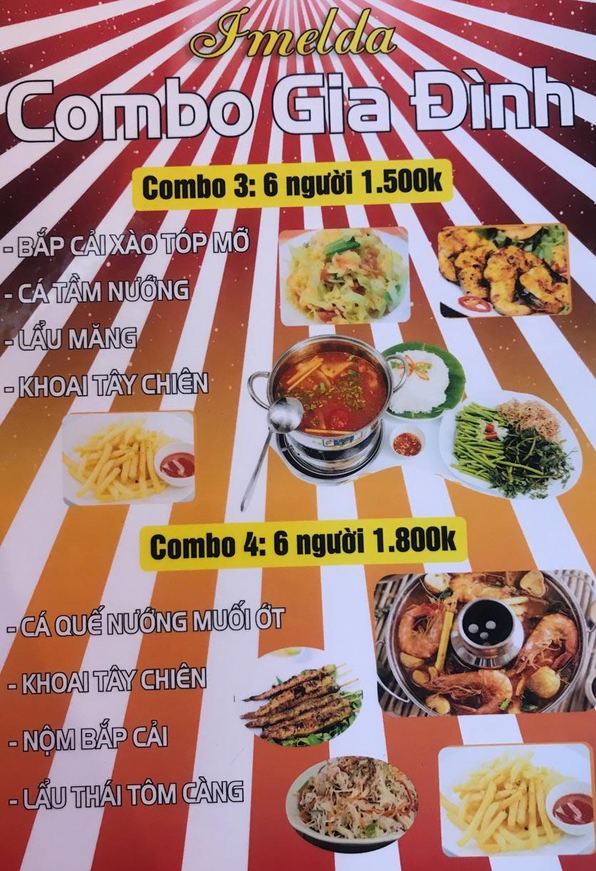 Menu Hai Lúa Sài Gòn - Beer & Restaurant - Nguyễn Chánh 2