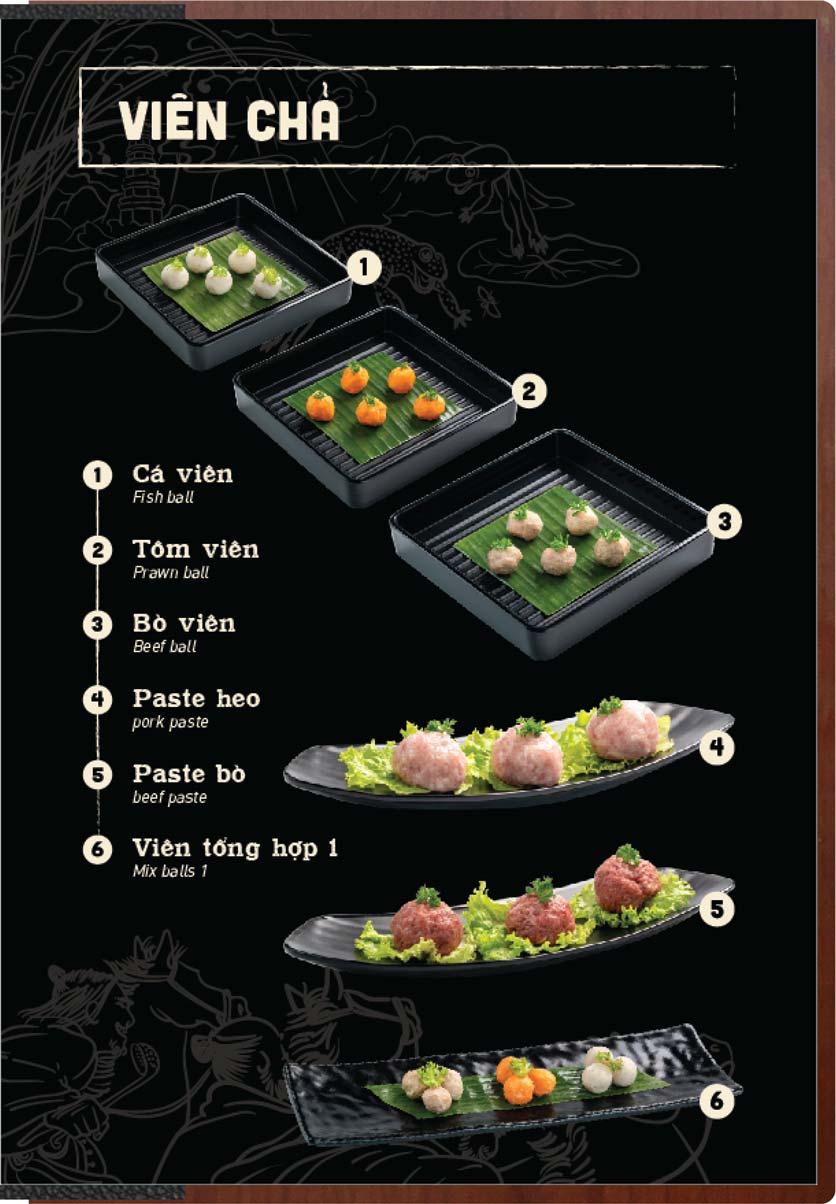 Menu Buffet Lẩu Ếch Jiang Hu - Sư Vạn Hạnh 10
