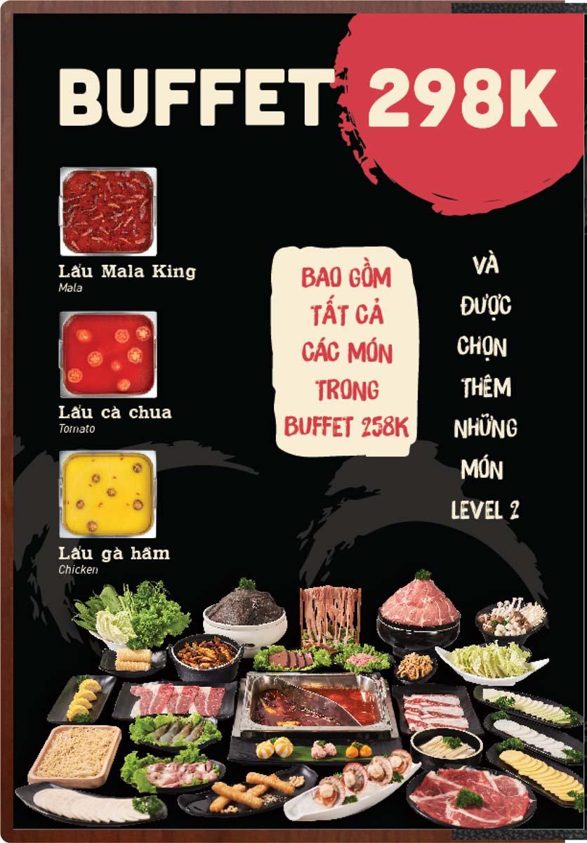 Menu Buffet Lẩu Ếch Jiang Hu - Sư Vạn Hạnh 15