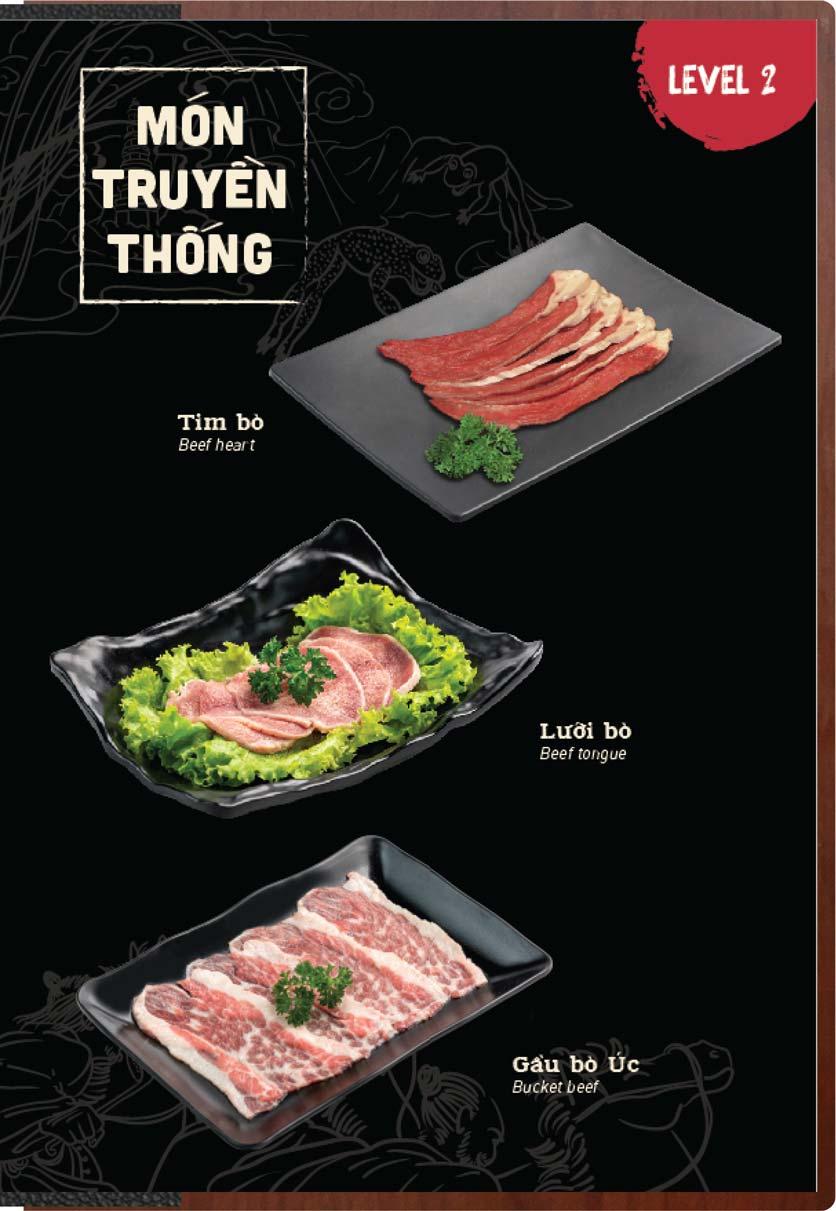 Menu Buffet Lẩu Ếch Jiang Hu - Sư Vạn Hạnh 16