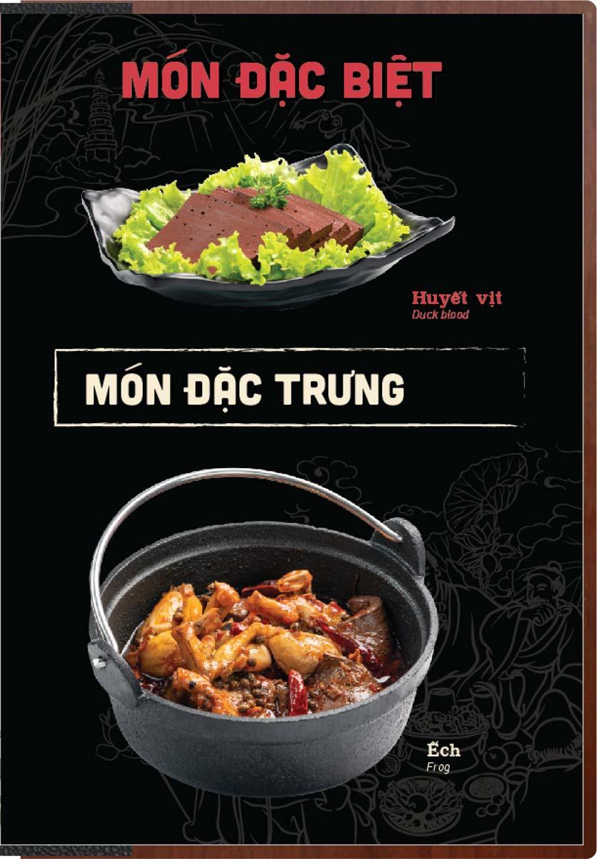 Menu Buffet Lẩu Ếch Jiang Hu - Sư Vạn Hạnh 2