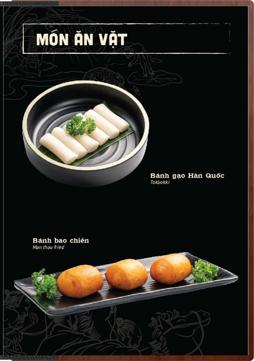 Menu Buffet Lẩu Ếch Jiang Hu - Sư Vạn Hạnh 20