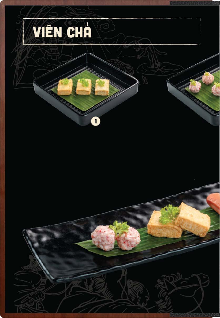 Menu Buffet Lẩu Ếch Jiang Hu - Sư Vạn Hạnh 21