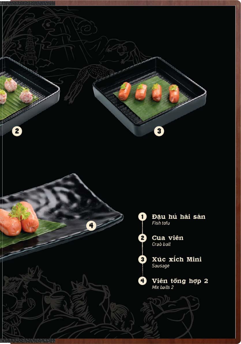 Menu Buffet Lẩu Ếch Jiang Hu - Sư Vạn Hạnh 22