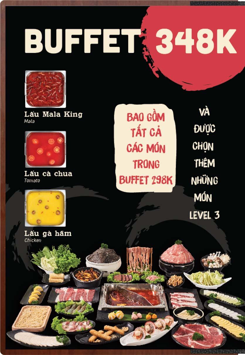 Menu Buffet Lẩu Ếch Jiang Hu - Sư Vạn Hạnh 23