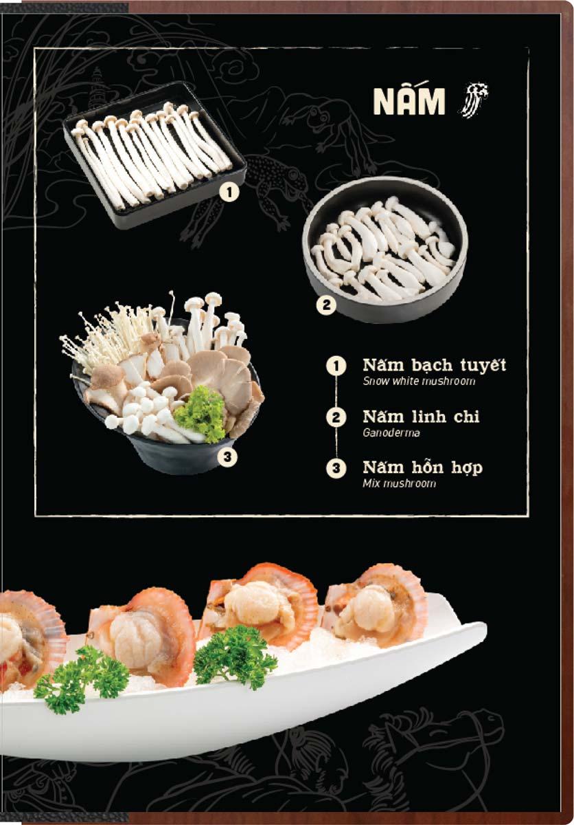 Menu Buffet Lẩu Ếch Jiang Hu - Sư Vạn Hạnh 26