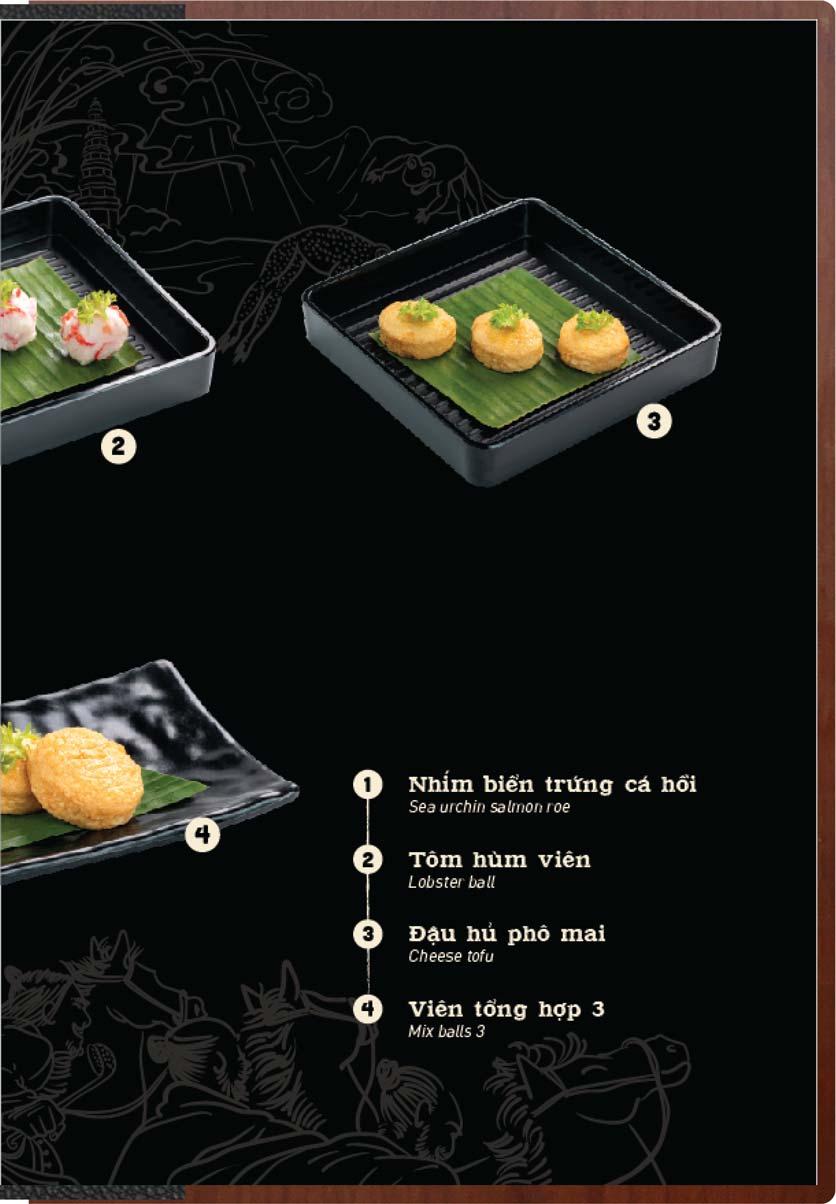 Menu Buffet Lẩu Ếch Jiang Hu - Sư Vạn Hạnh 28