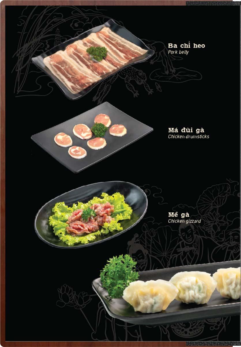 Menu Buffet Lẩu Ếch Jiang Hu - Sư Vạn Hạnh 5