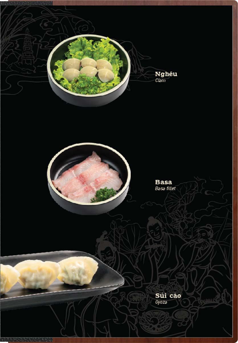 Menu Buffet Lẩu Ếch Jiang Hu - Sư Vạn Hạnh 6