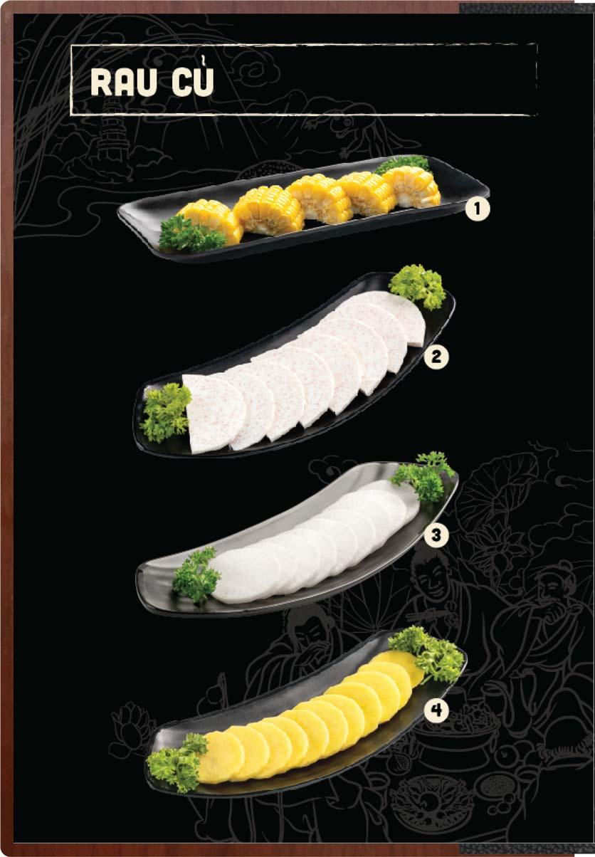 Menu Buffet Lẩu Ếch Jiang Hu - Sư Vạn Hạnh 7
