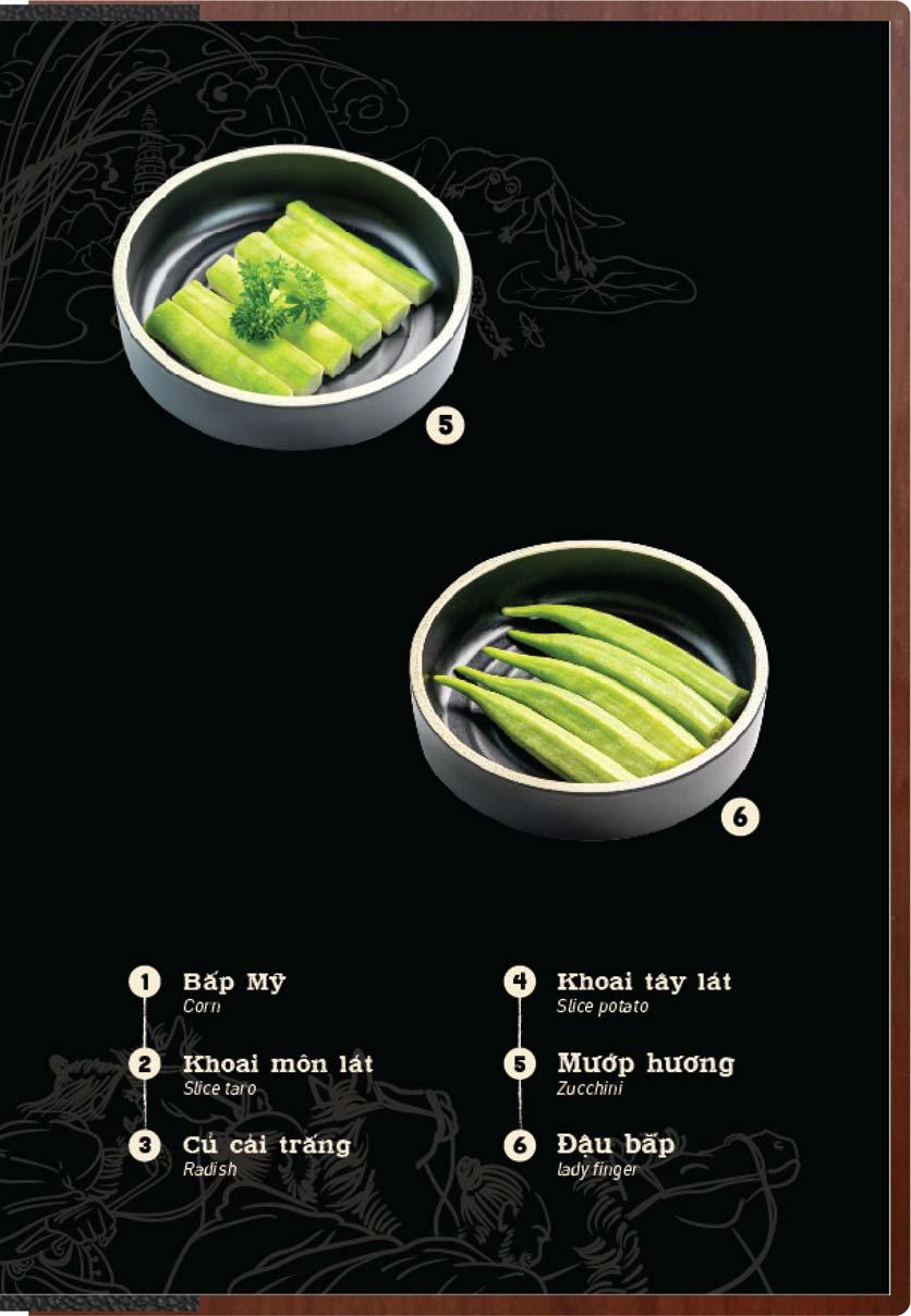 Menu Buffet Lẩu Ếch Jiang Hu - Sư Vạn Hạnh 8