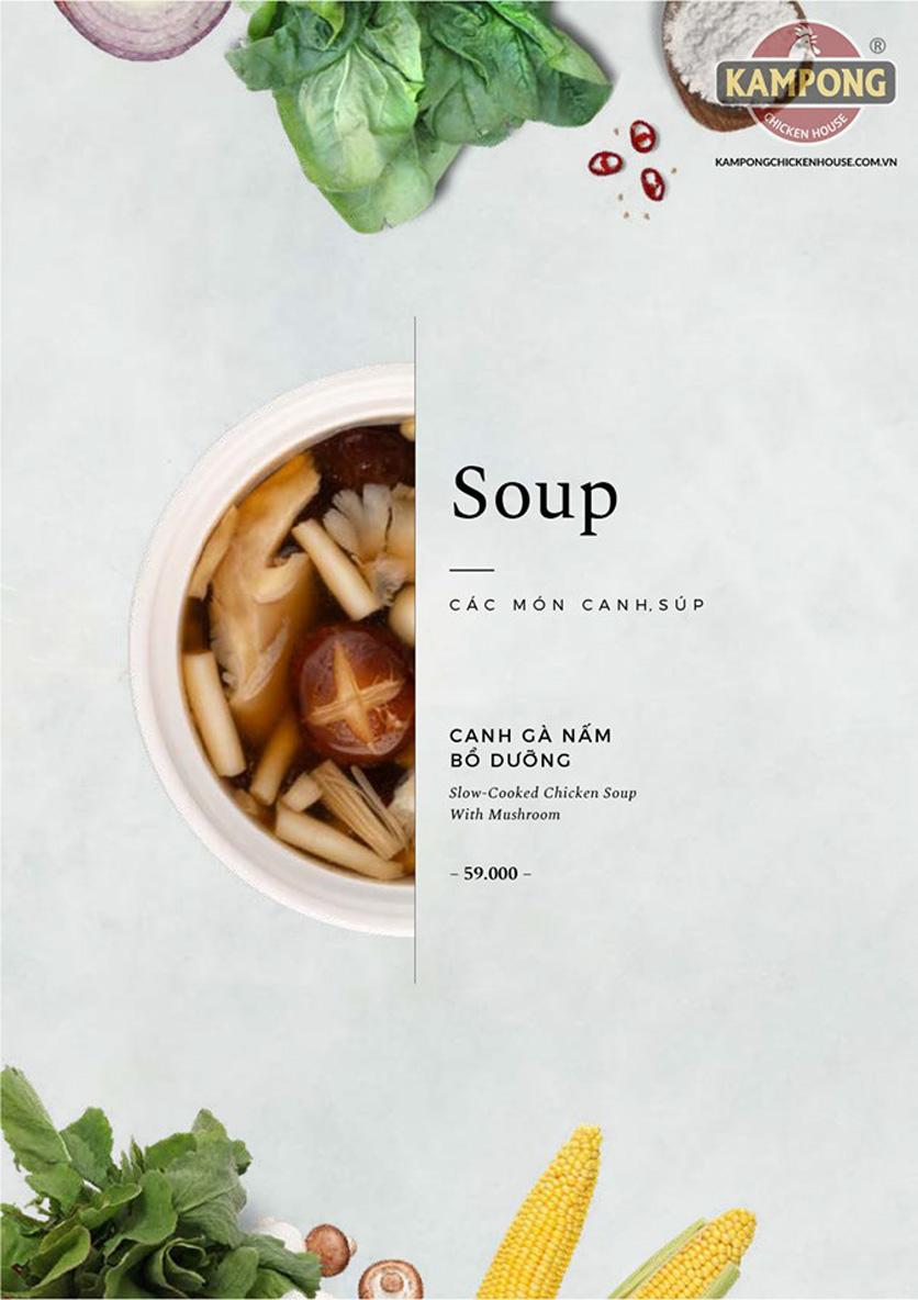 Menu Kampong Chicken House - Cơm Gà Hải Nam -  Nguyễn Hoàng   2