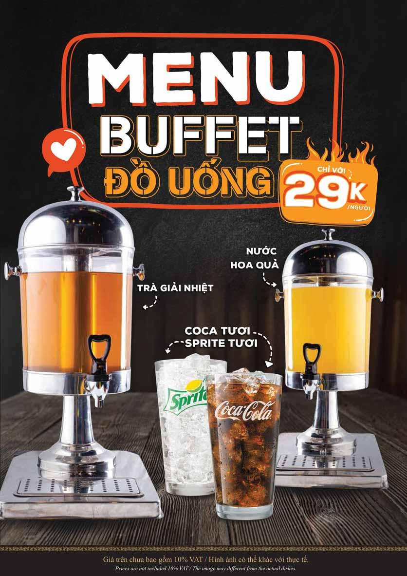 Menu KIMHO BBQ - Buffet Nướng & Lẩu – Tô Hiệu 7