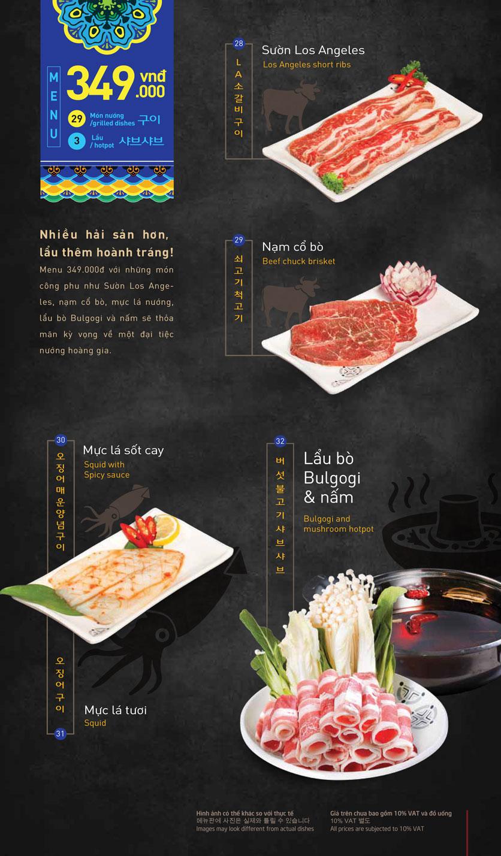 Menu King BBQ – Giảng Võ  5