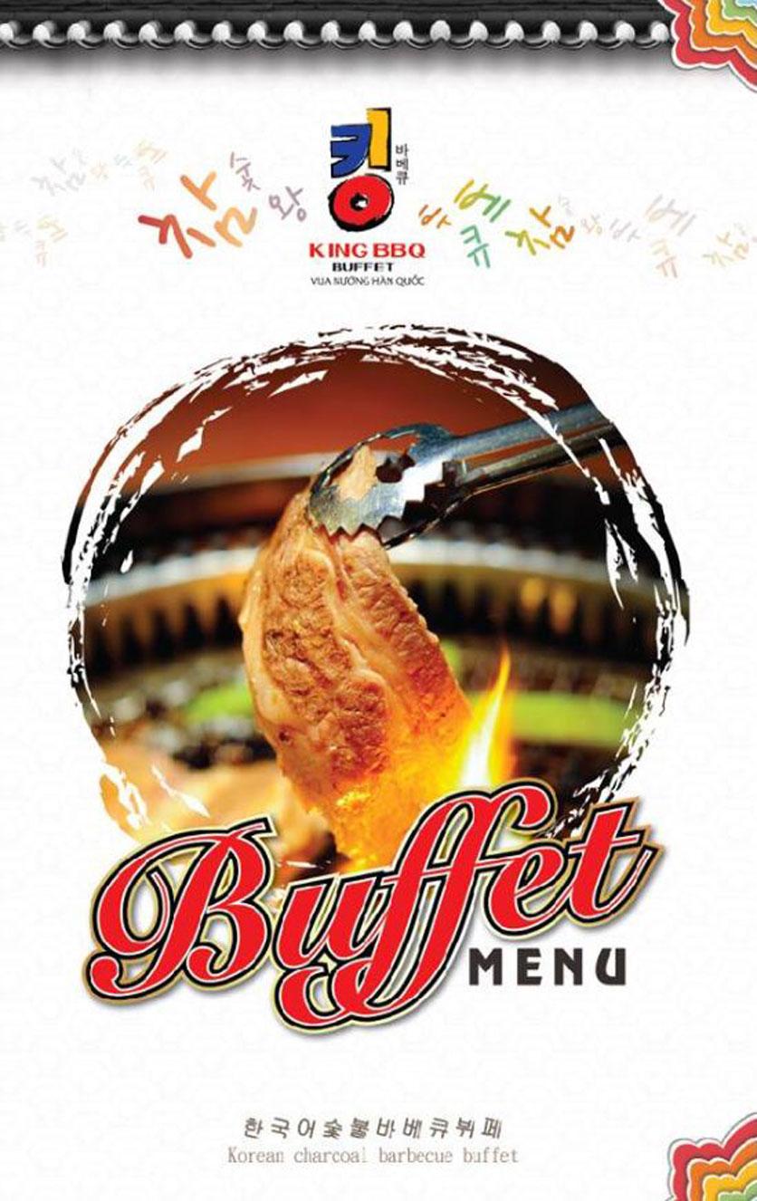Menu King BBQ Buffet - Nguyễn Văn Quá  1